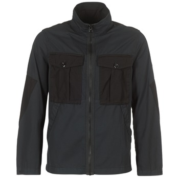 Textiel Heren Wind jackets G-Star Raw TYPE C UTILITY PM OVERSHIRT Zwart