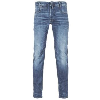 Textiel Heren Skinny jeans G-Star Raw D-STAQ 5-PKT SLIM Blauw / Medium / Indigo / Aged