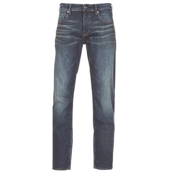 Textiel Heren Straight jeans G-Star Raw 3301 STRAIGHT Blauw / Dark / Aged / Antic