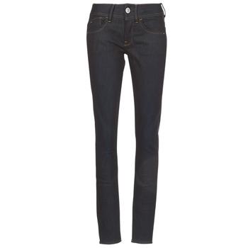 Textiel Dames Skinny Jeans G-Star Raw LYNN MID SKINNY Blauw / Dark / Aged