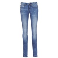 Textiel Dames Straight jeans G-Star Raw MIDGE MID STRAIGHT Blauw / Medium / Indigo / Aged