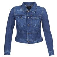 Textiel Dames Spijker jassen G-Star Raw D-STAQ DC DNM Blauw / Sato / Denim