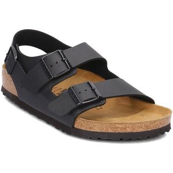 Schoenen Heren Sandalen / Open schoenen Birkenstock Milano Marron, Graphite