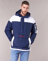 Textiel Heren Wind jackets Columbia CHALLENGER PULLOVER Marine / Wit