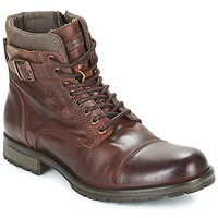 Schoenen Heren Laarzen Jack & Jones ALBANY LEATHER Brown