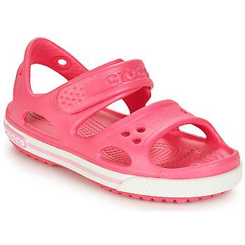 Schoenen Meisjes Sandalen / Open schoenen Crocs CROCBAND II SANDAL PS Roze