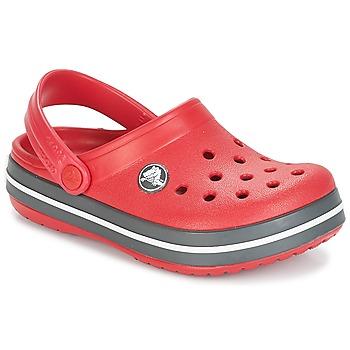 Schoenen Kinderen Klompen Crocs CROCBAND CLOG KIDS Rood
