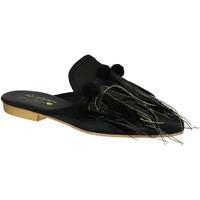 Schoenen Dames Klompen Gia Couture VENUS SATIN B nero