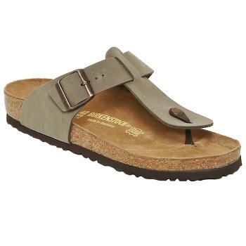 Schoenen Heren Slippers Birkenstock MEDINA Beige