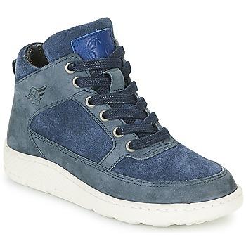 Schoenen Jongens Hoge sneakers Bullboxer LAVINO Blauw