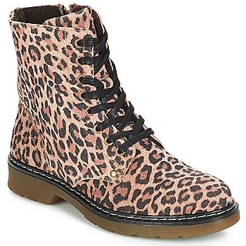 Schoenen Meisjes Laarzen Bullboxer LANA Leopard