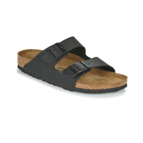 Schoenen Leren slippers Birkenstock ARIZONA Zwart