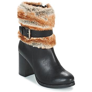Schoenen Dames Enkellaarzen LPB Shoes JESSY Zwart