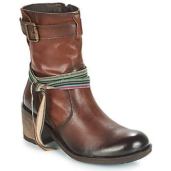 Schoenen Dames Enkellaarzen Felmini URRACO Brown