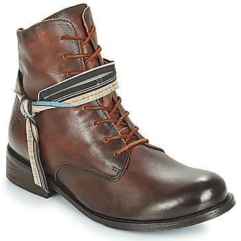 Schoenen Dames Laarzen Felmini SANTIAGO Brown