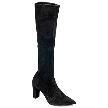 Schoenen Dames Hoge laarzen Perlato JEANY Cam / Strech / Zwart