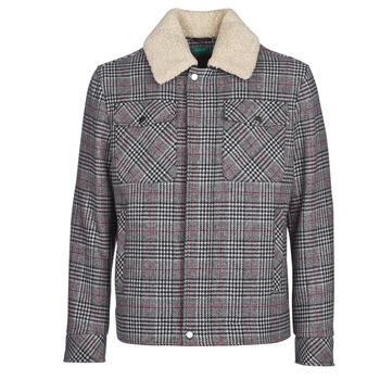 Textiel Heren Mantel jassen Benetton MADRILA Grijs