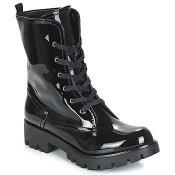 Schoenen Dames Laarzen Buffalo SKYLIGHT Zwart / Vernis
