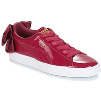 Schoenen Dames Lage sneakers Puma WN SUEDE BOW PATENT.TIBETA Maroon