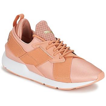 Schoenen Dames Lage sneakers Puma PUMA Muse X-Strp St EP W's Koraal
