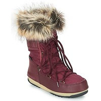 Schoenen Dames Snowboots Moon Boot MONACO LOW WP Bordeaux