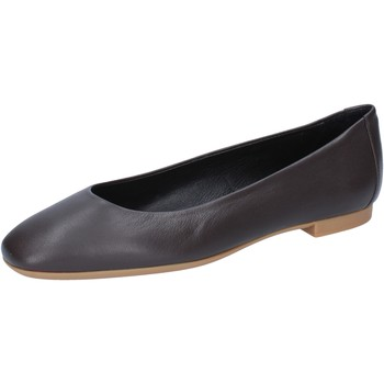 Schoenen Dames Ballerina's Bally Shoes ballerine marrone pelle BY22 Marrone