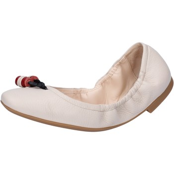 Schoenen Dames Ballerina's Bally Shoes ballerine beige pelle BY32 Beige