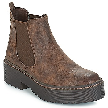 Schoenen Dames Laarzen Refresh SOBAO Brown