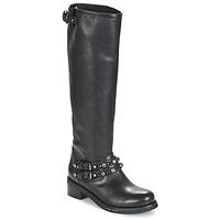 Schoenen Dames Hoge laarzen Mimmu MELVYN Zwart