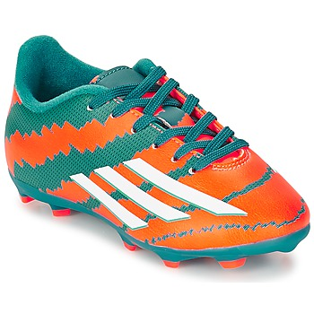 Schoenen Jongens Voetbal adidas Performance MESSI 10.3 FG J TURQUOISE / Orange