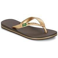 Schoenen Dames Slippers Ipanema CLASSICA BRASIL II Brown / Goud