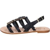Schoenen Dames Sandalen / Open schoenen E...vee Sandales BY184 Noir