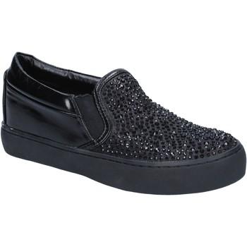 Schoenen Dames Instappers Sara Lopez BY240 Zwart