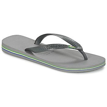 Schoenen Slippers Havaianas BRASIL Grijs