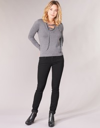 Textiel Dames Skinny jeans Replay LUZ Zwart / 098
