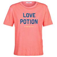 Textiel Dames T-shirts korte mouwen Replay YAYOUTE Rood
