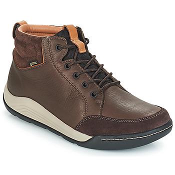 Schoenen Heren Hoge sneakers Clarks ASHCOMBE Brown