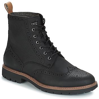 Schoenen Heren Laarzen Clarks BATCOMBE LORD Zwart