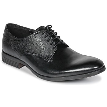 Schoenen Heren Derby Clarks GILMORE  zwart / Leather