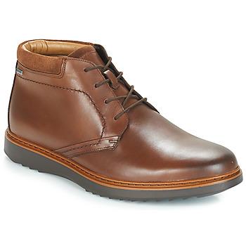 Schoenen Heren Laarzen Clarks UN Brown