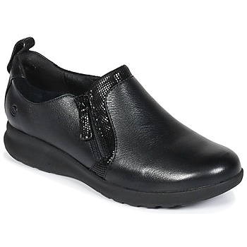 Schoenen Dames Derby Clarks Un Adorn Zip  zwart / Combi