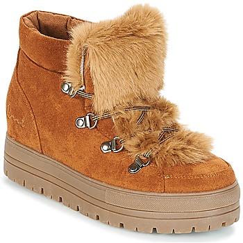 Schoenen Dames Laarzen Coolway OSLO  camel