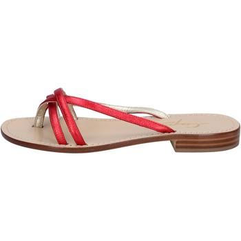 Schoenen Dames Sandalen / Open schoenen Capri Soleae BY501 Rouge