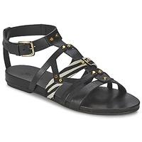 Schoenen Dames Sandalen / Open schoenen Vic GINKO ACHANTUS Zwart