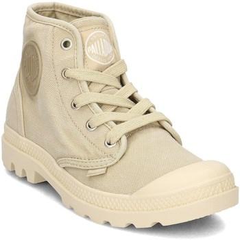 Schoenen Dames Hoge sneakers Palladium Manufacture Pampa HI Jaune