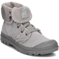Schoenen Dames Hoge sneakers Palladium Manufacture Pallabrouse Baggy Gris