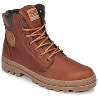 Schoenen Heren Laarzen Palladium PALLABOSSE SC WP Brown