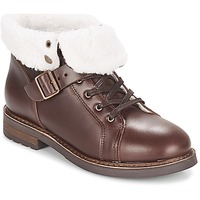 Schoenen Dames Laarzen PLDM by Palladium BOCK CLN Brown