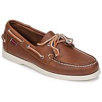 Schoenen Heren Bootschoenen Sebago DOCKSIDES FGL Brown