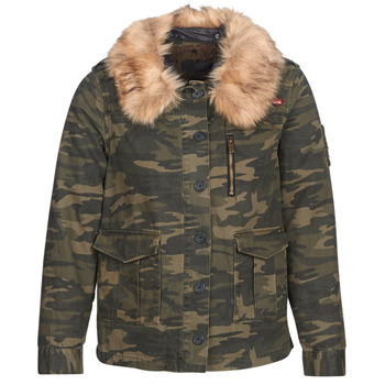 Textiel Dames Wind jackets Ikks REFLEKTION Groen